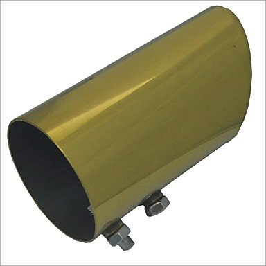 Zcl Carking? Automotive Replacements Gold Stainless Exhaust Steel Muffler Tail Pipe For Vw New Sagitar