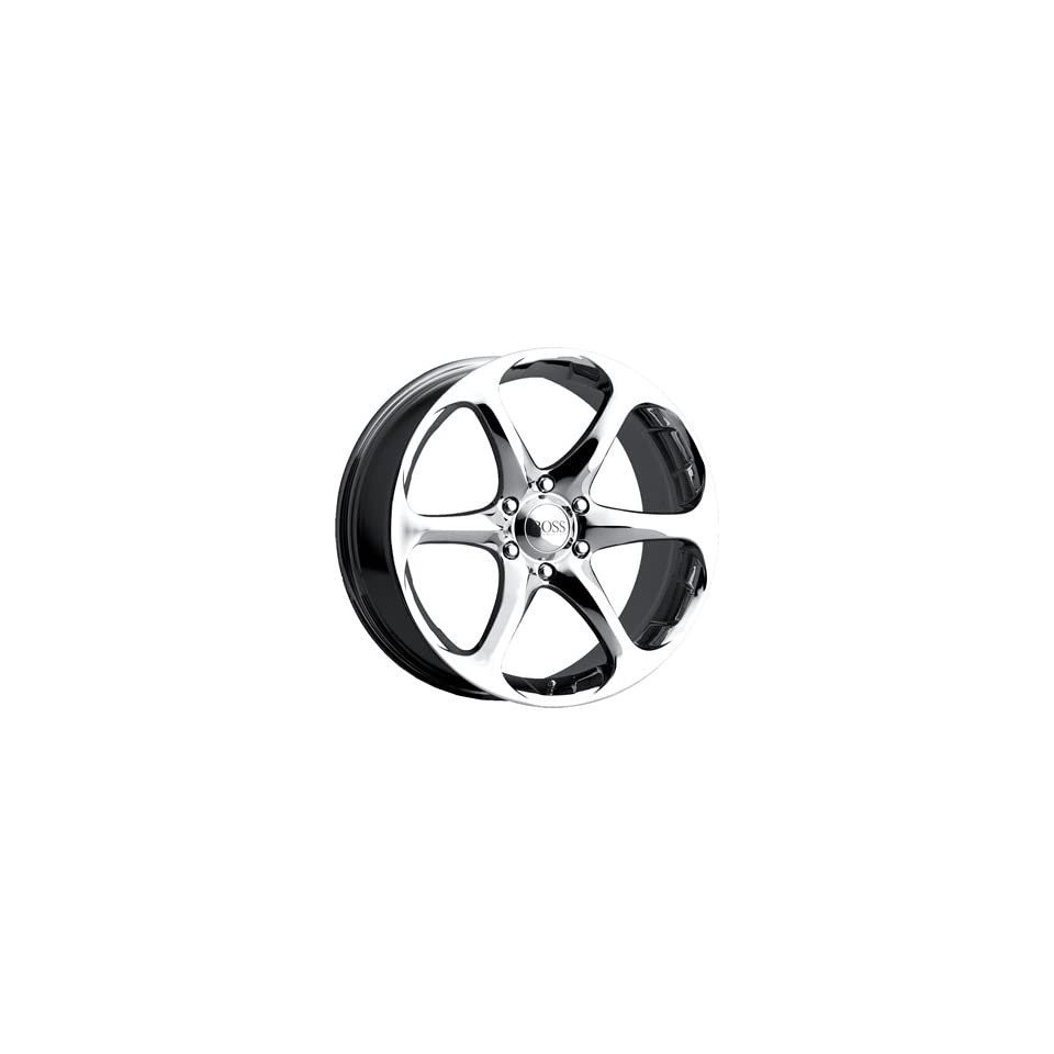 Boss 318 17 Chrome Wheel / Rim 4x100 with a 40mm Offset and a 72.64 Hub Bore. Partnumber 31868810
