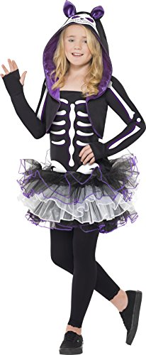 Skelly Cat Costume, Halloween Children'S Fancy Dress, Large Age 10-12