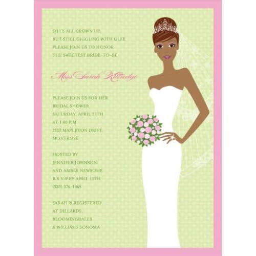 blushing bride bridal shower
