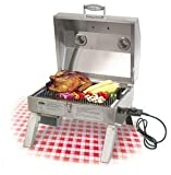 Holland ELECTRIC Companion Portable Grill, No Flare-up BBQ Grill