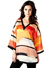 Per Una Speziale Striped Kaftan