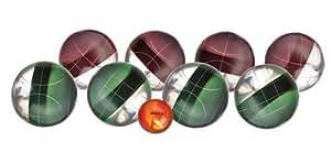 Halex Platinum Bocce Set (113mm Clear Resin Balls)