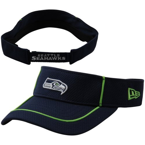 NFL Seattle Seahawks Pipe Up Adjustable Visor at Amazon.com