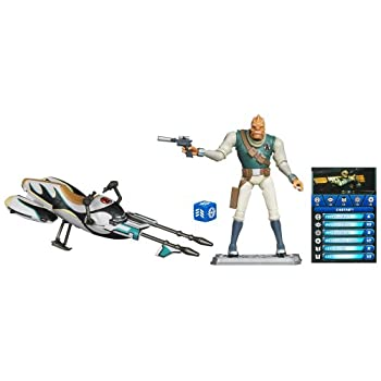 Star Wars 29956 Speeder Bike mit Castas Figur – The Clone Wars mit Battle Karte und Aktionswürfel jetzt kaufen