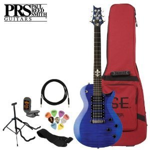 Paul Reed Smith Se Zach Myers Signature Royal Blue Electric Guitar Kit With Tuner, Cable, Strap, Stand, Picks And Prs Gig Bag
