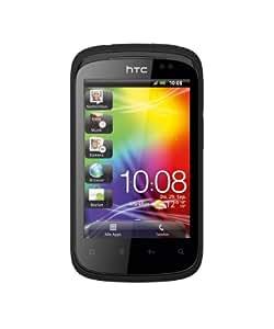HTC Explorer Smartphone (8,1 cm (3,2 Zoll) Display, Touchscreen, 3,15 Megapixel Kamera, Android 2.3 OS) smart schwarz