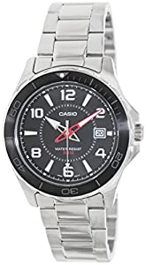 Casio Men's MTD1074D-1AV Silver Stainless-Steel Analog Quartz Watch