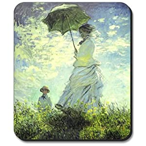 Monet: Woman with a parasol | Claude Monet | M | Master