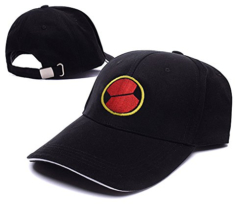 [HAISHEN MegaMan EXE Navi Mark Logo Adjustable Baseball Caps Unisex Snapback Embroidery Hats] (Megaman Hat)
