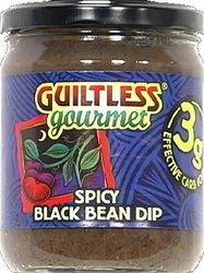 Guiltless Gourmet - Dip Spicy Black Bean (Pack of 12) from Guiltless Gourmet