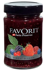 Favorit Swiss Preserves Forest Berries, 12.3 Ounces
