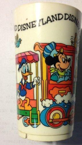 Disneyland Characters Train Plastic Souvenir Cup - 1