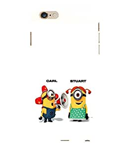 printtech Minions Back Case Cover for Apple iPhone 6S Plus