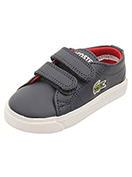 Lacoste Marcel ADV Sneaker Boot (Toddler/Little Kid/Big Kid), Dark Blue, 6 M US Toddler