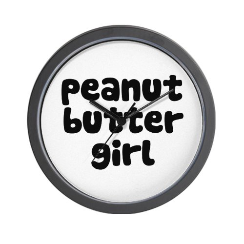 Peanut Butter Girl Wall Clock