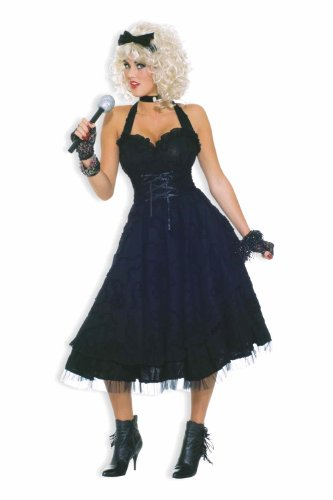 Forum To The Maxx Collection Girlie Costume, Black,