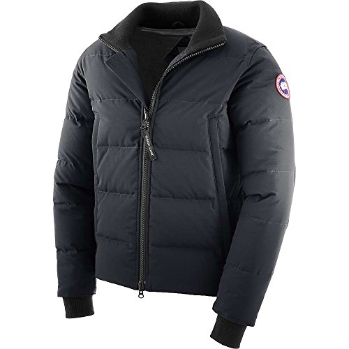 Canada Goose Woolford Jacket Fusion Fit - Men's Navy Small (Fusion Fit Canada Goose compare prices)