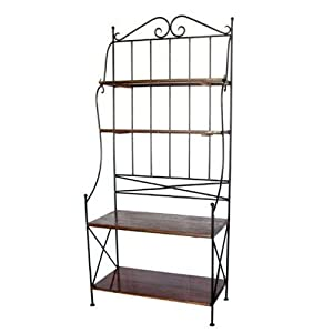 Zen Baker's Rack with Wine Storage - Sam's Club