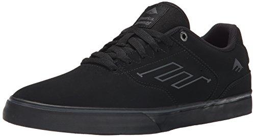 emerica-hombre-the-reynolds-low-vulc-zapatillas-de-skateboard-negro-size-425