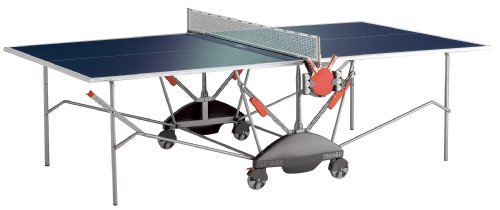 Kettler Match 5.0 Indoor Table Tennis Table, Blue Top