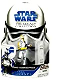 - Clone Trooper Officer Yellow Saga Legacy Collection Star Wars Action Figure