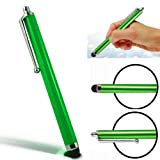CellBig Introduces Brand New Glorious Green High Capacitive / Resistive Soft End Touch Screen Stylus Pen Suitable for Lenovo A1 Tablet / Ideapad K1 / Ideapad S2 / K2 / ThinkPad Tablet 1838 Tablet / X220 Convertible