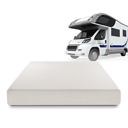 Sleep Master Deluxe Memory Foam 8 Inch RV / Camper / Trailer / Truck Mattress, Short Queen (Foam Rv Mattress compare prices)