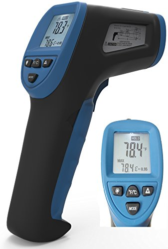 Thermal Predator® Infrared Thermometer ►Black Friday Deal-20% Off◄ Digital Gun Style W/ Laser Accuracy To Probe Surface Temperatures Using A Non-Contact Sensor. Gauge, And Double Check Your Work!-Killer Money Back Guarantee And Warranty!!