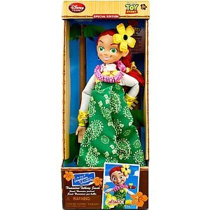 "Then Toy Story 3 ""Hawaiian Vacation"" Talking Action Figure Jesse English version (japan import)"