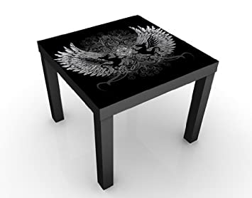 mantiburi design tisch drachenfl gel 55x45x55cm beistelltisch nicht spiegel seitenverkehrt. Black Bedroom Furniture Sets. Home Design Ideas