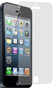 amFilm (TM) Premium Screen Protector Film Clear (Invisible) for Apple iPhone 5 (AT&T, Sprint, Verizon)(3 Pack) [In Retail Packing]
