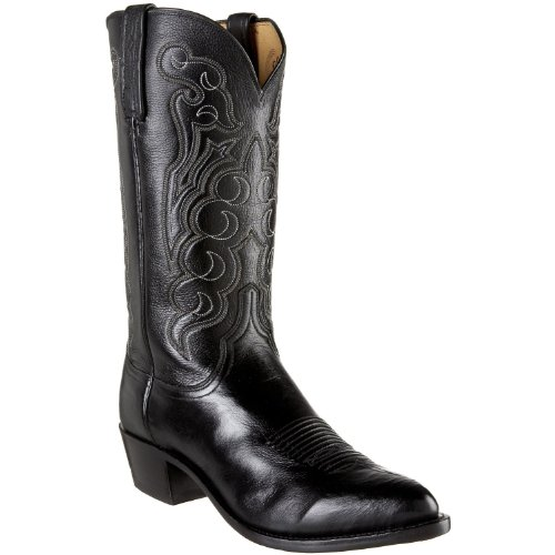 Lucchese� 1883 Black Cordova Calf Dress Boot 1
