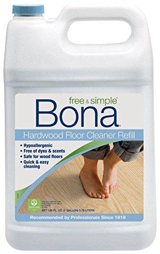 Bona Free and Simple Hardwood Floor Cleaner Refill, 128-Ounce (Bona Floor Cleaner Free compare prices)