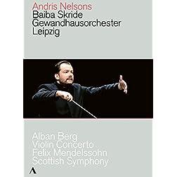 Berg: Violin Concerto; Mendelssohn: Scottish Symphony