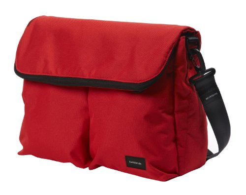 Bumbleride Diaper Bag Cayenne, Red