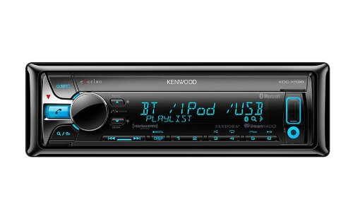 Kenwood KDC-X598 Excelon In-Dash CD Receiver with Built-In Bluetooth