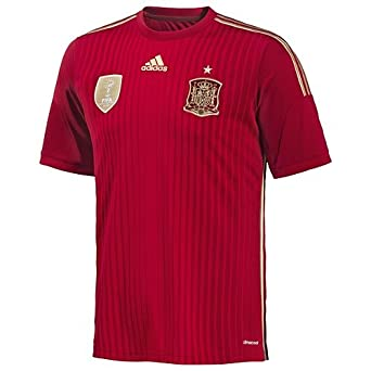 Buy Adidas Spain Home Authentic Jersey World Cup 2014 by adidas