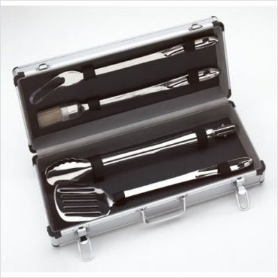 All-Clad BBQ Tool Set in Carrying Case