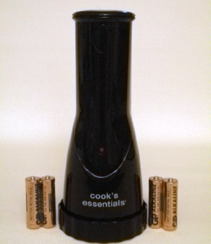 Cooks's Essentials Electric Pepper Mills (black)