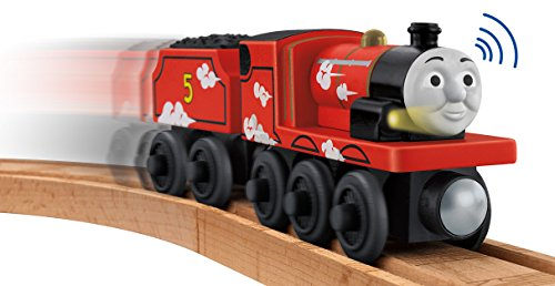 Fisher-Price Thomas the Train Wooden Railway Roll and Whistle James