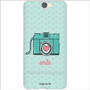 Design Worlds - HTCOne A9 Designer Back Cover Case - Multicolor Phone Cover