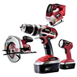 Factory-Reconditioned Skil 2895-10-RT 18 Volt 4 Tool Combo Pack