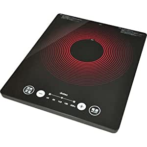 ドリテック(dretec) うす型フラットIH調理器 DI-301BK ブラック
