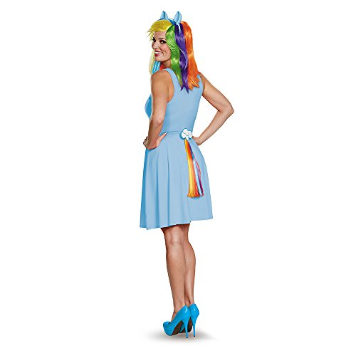 Disguise Women's Rainbow Dash Adult Costume Tail