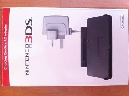 Nintendo Charging Cradle + AC Adapter, 3DS - accesorios de juegos de pc (3DS, Negro, Alámbrico)