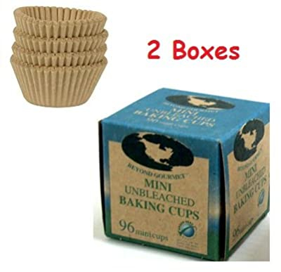 (Pack of 2) Beyond Gourmet Paper Baking Cups Mini (96/Box)