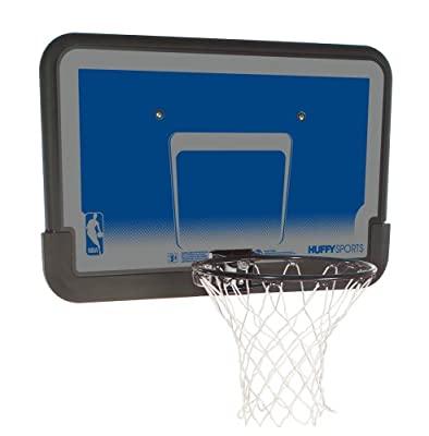 Huffy 80318 Backboard & Rim Combo with 44in Composite Rectangle Backboard