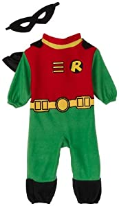 Teen Titans Robin Romper Costume, Infant (6-12 Months)