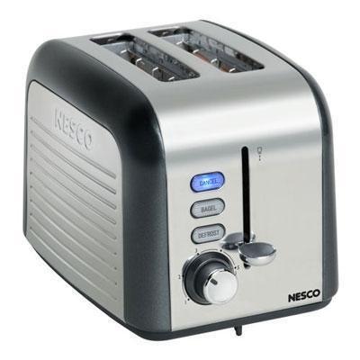Nesco 2 Slice Toaster Gray